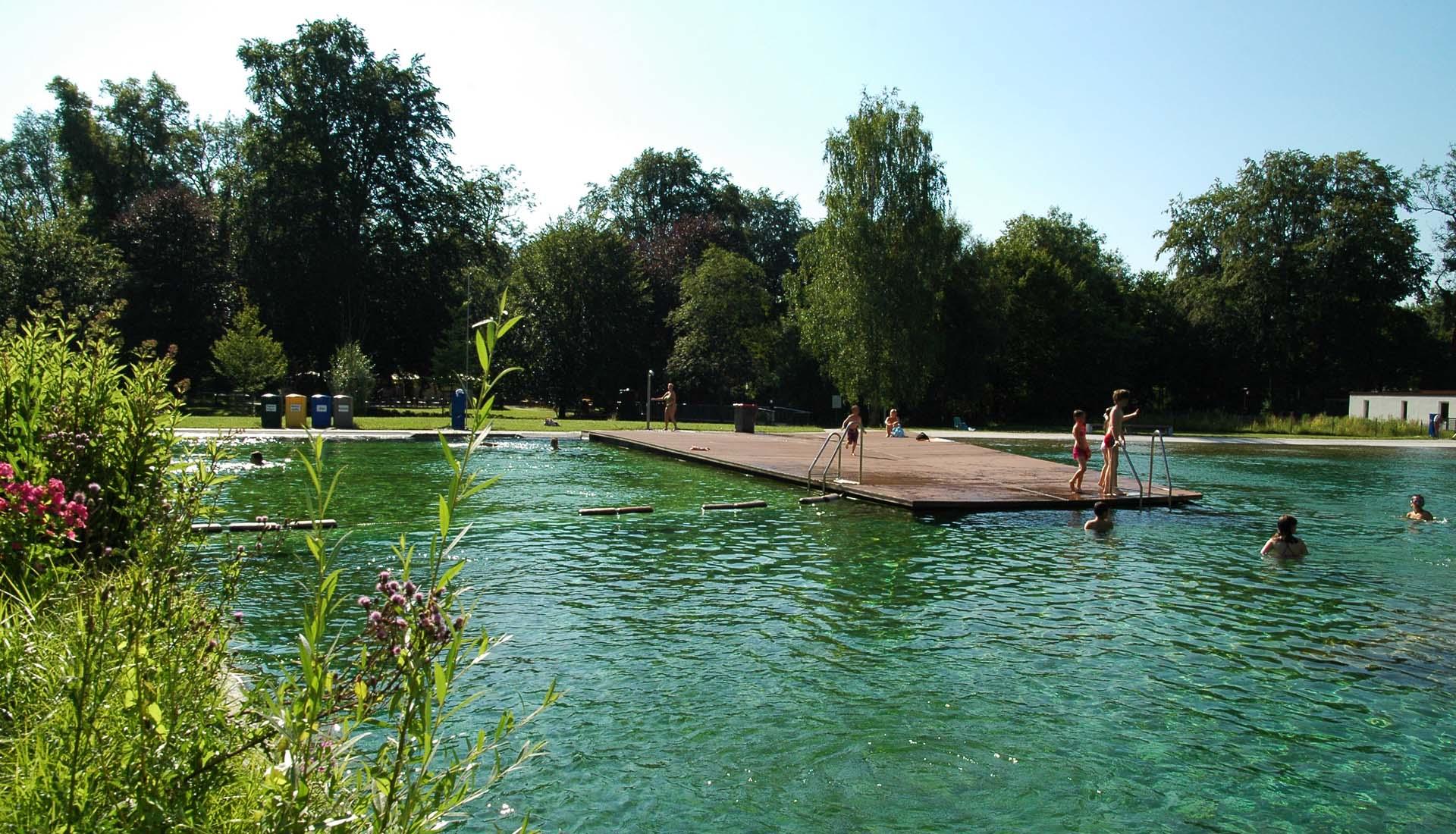 Schwimmbad Liegeflaeche WPC