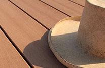 detailausschnitt freibad terrasse im auebad