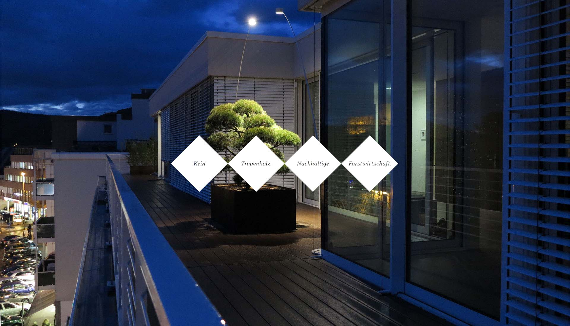 Langlebige WPC Terrassengestaltung