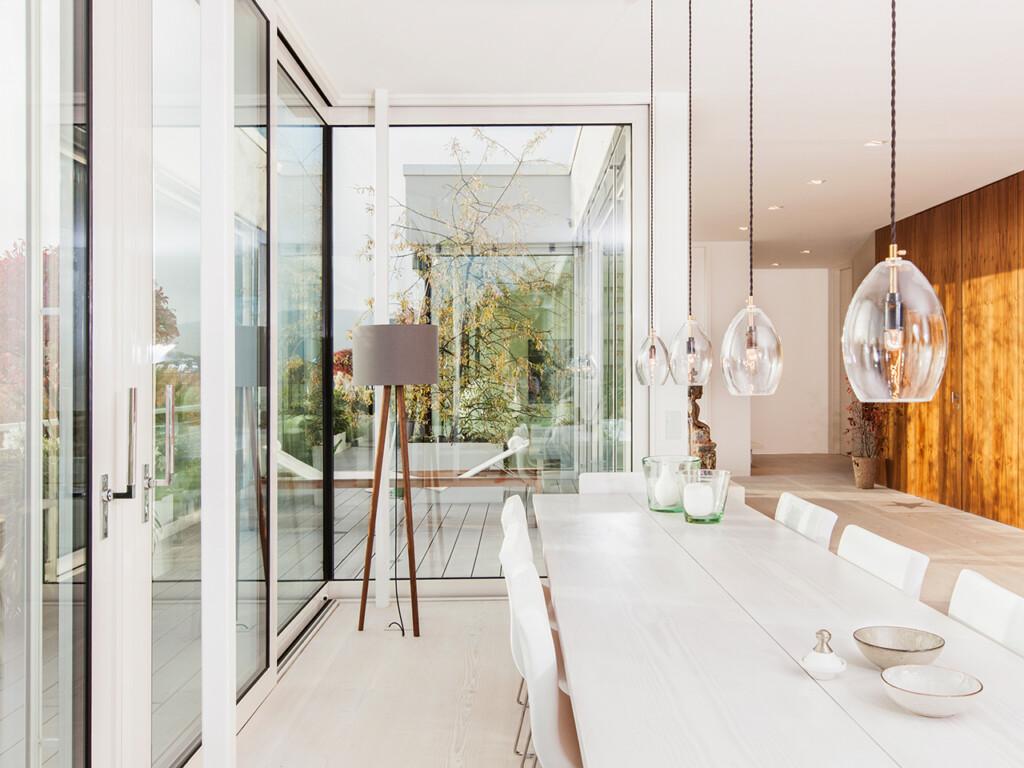 Wetterfeste WPC Terrassendielen Ergänzen Die Moderne Architektur